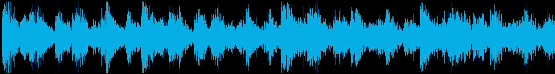 爽やかな朝に聞くBGM-ループ4の再生済みの波形
