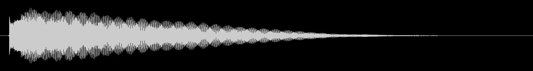 綺麗系な音で爽やかに雰囲気を変える音で…の未再生の波形