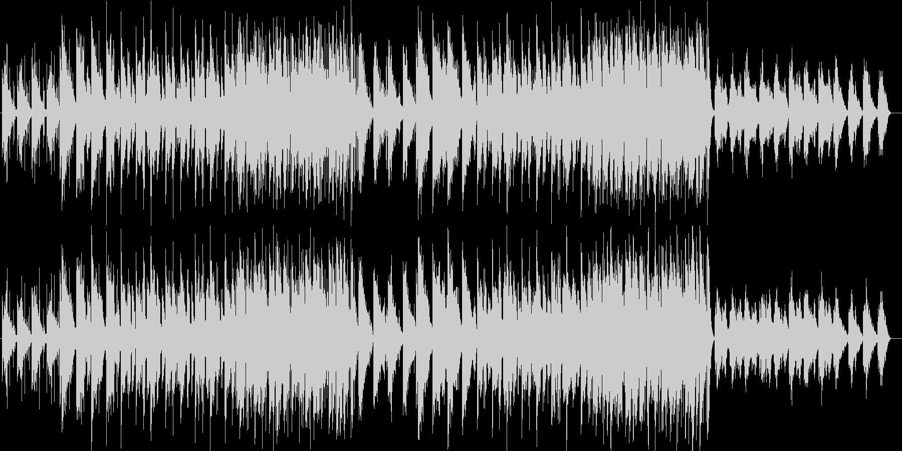 開放的なスローブリージングする環境音楽の未再生の波形