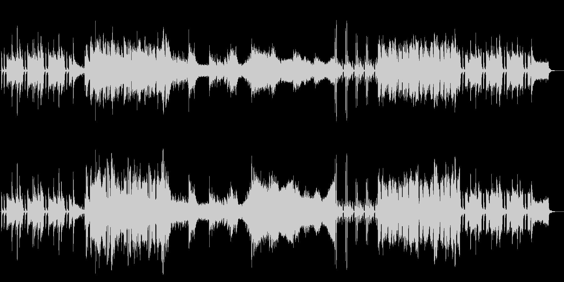 明るく穏やかなBGM-ギター&オーボエの未再生の波形