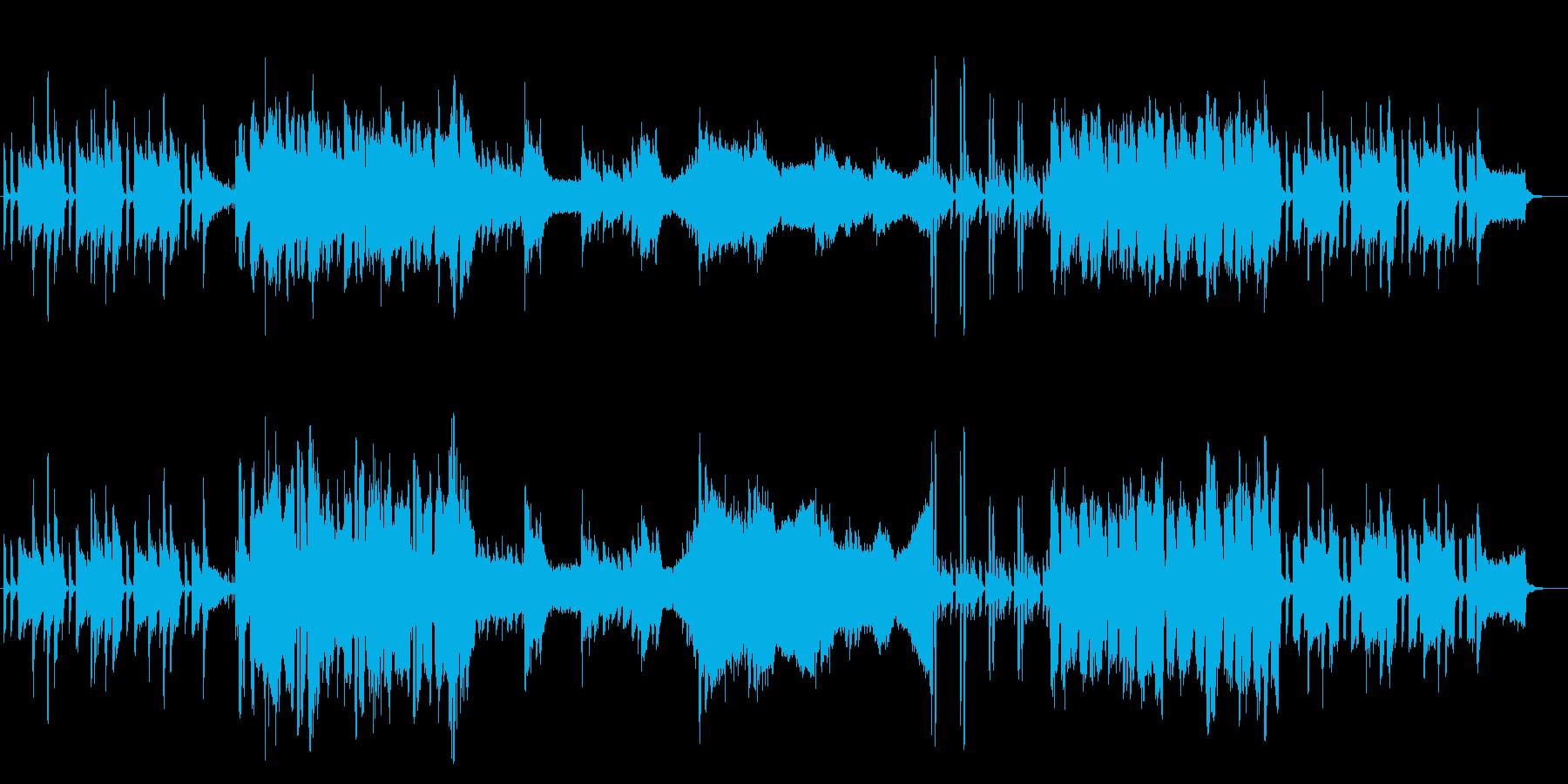 明るく穏やかなBGM-ギター&オーボエの再生済みの波形