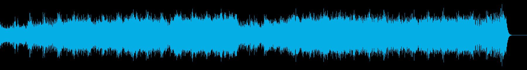 重厚で厳粛なボレロ風映画/ドキュメントの再生済みの波形