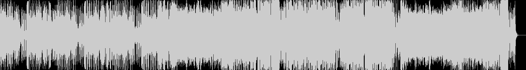 暗い感じのインダストリアルベースの未再生の波形