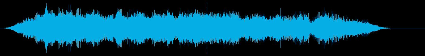 音楽:不気味なストレッチピアノ、リ...の再生済みの波形