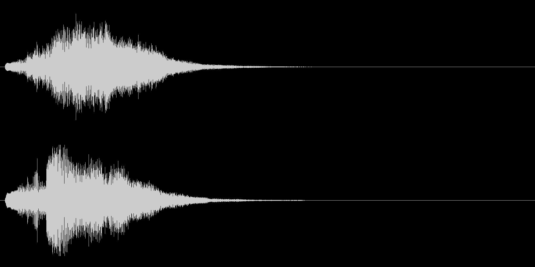 ハープ・上昇_8-3の未再生の波形