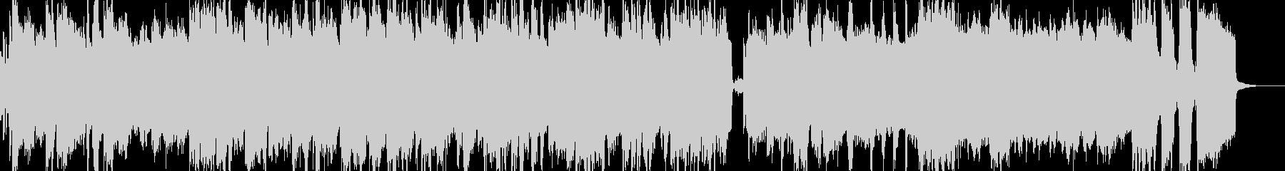 エレピとファンクなドラムのJAZZの未再生の波形