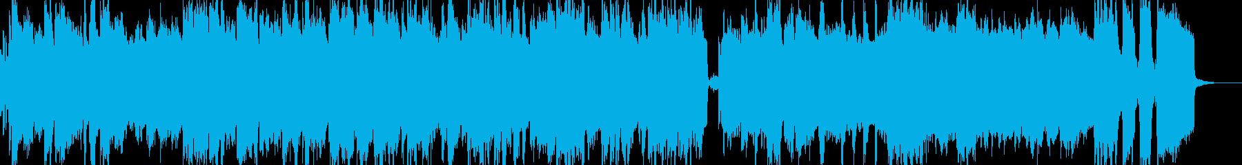 エレピとファンクなドラムのJAZZの再生済みの波形