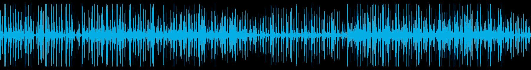 動画にピッタリ木管とアコギのほのぼの日常の再生済みの波形