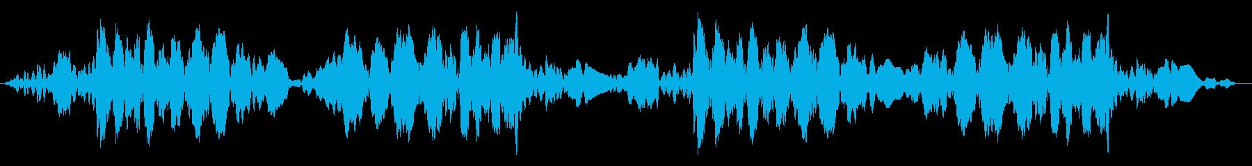ジュクジュク(レコードスクラッチ2回)の再生済みの波形