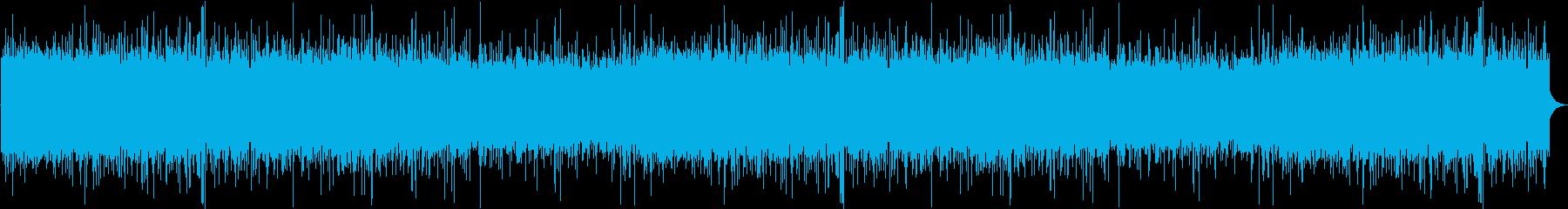 天気 雨02の再生済みの波形
