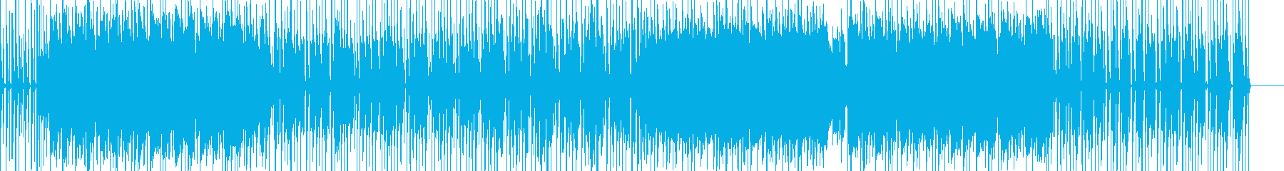 現代的なJpopの再生済みの波形
