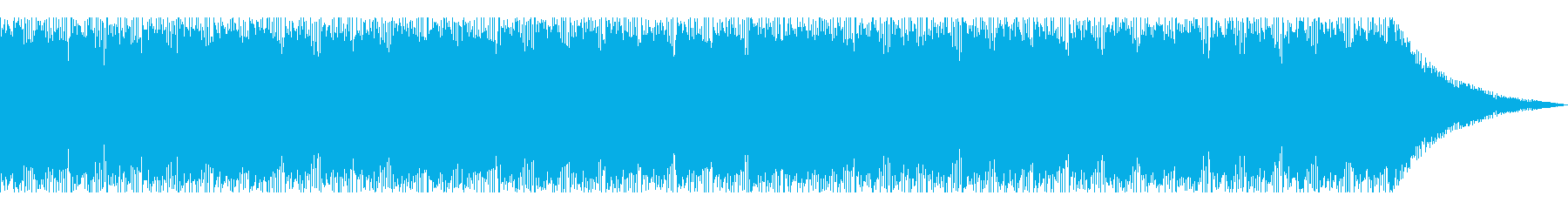 魔宮に迷い込んだような混沌としたループの再生済みの波形