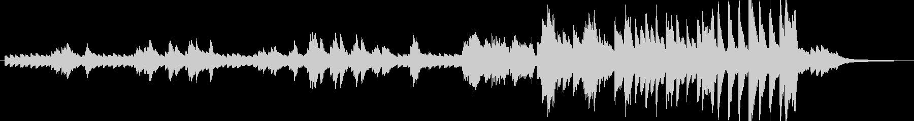 近代フランス風の曲の未再生の波形