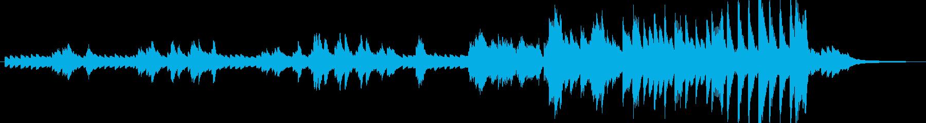 近代フランス風の曲の再生済みの波形