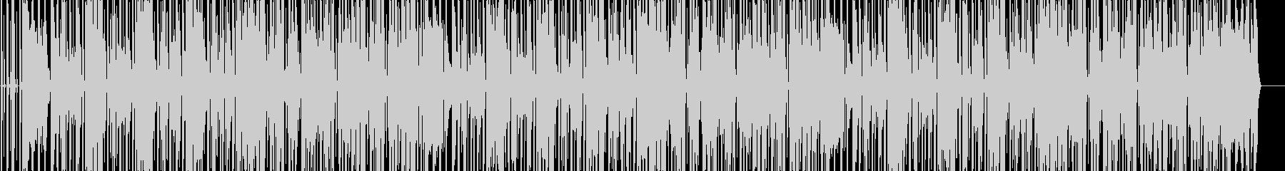 明るく軽快なギターファンキーダンスポップの未再生の波形