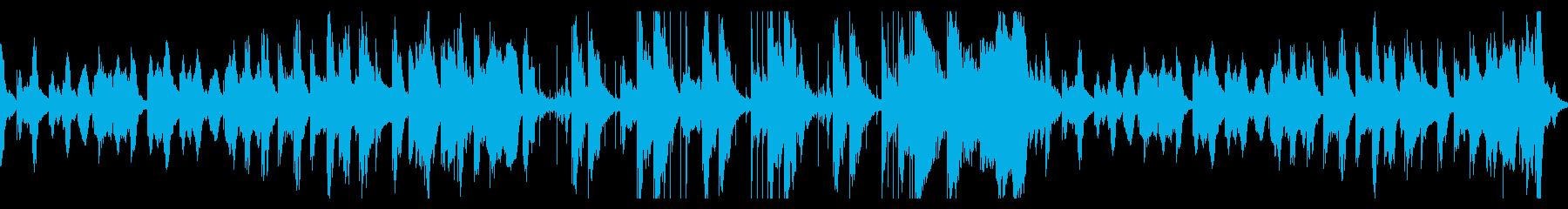 笛・木琴のほのぼの可愛いコミカルループ曲の再生済みの波形