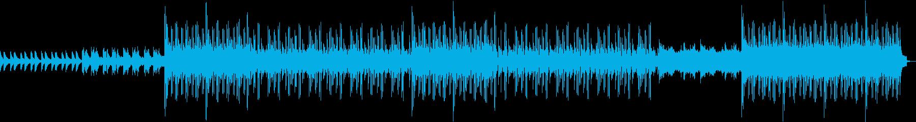 ピアノをメインにしたクラシック調のR&Bの再生済みの波形