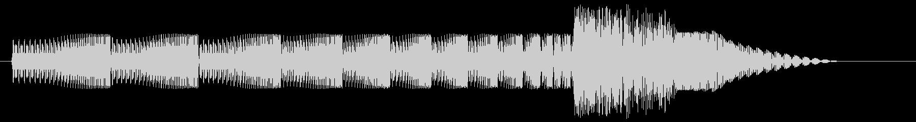 ギュワワン、とテレポーテーションする音…の未再生の波形