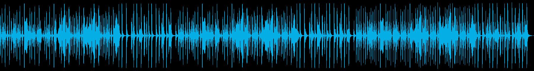 【ループ版】YouTube ハーモニカの再生済みの波形