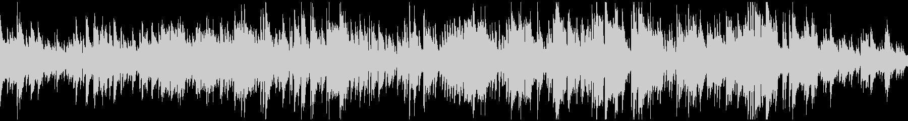 マイナー調のボサノバ・ジャズ ※ループ版の未再生の波形