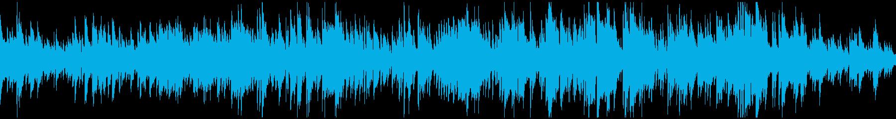マイナー調のボサノバ・ジャズ ※ループ版の再生済みの波形