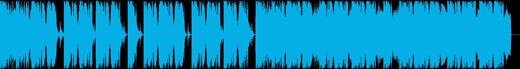 【EDM】ロング9、ジングル3の再生済みの波形