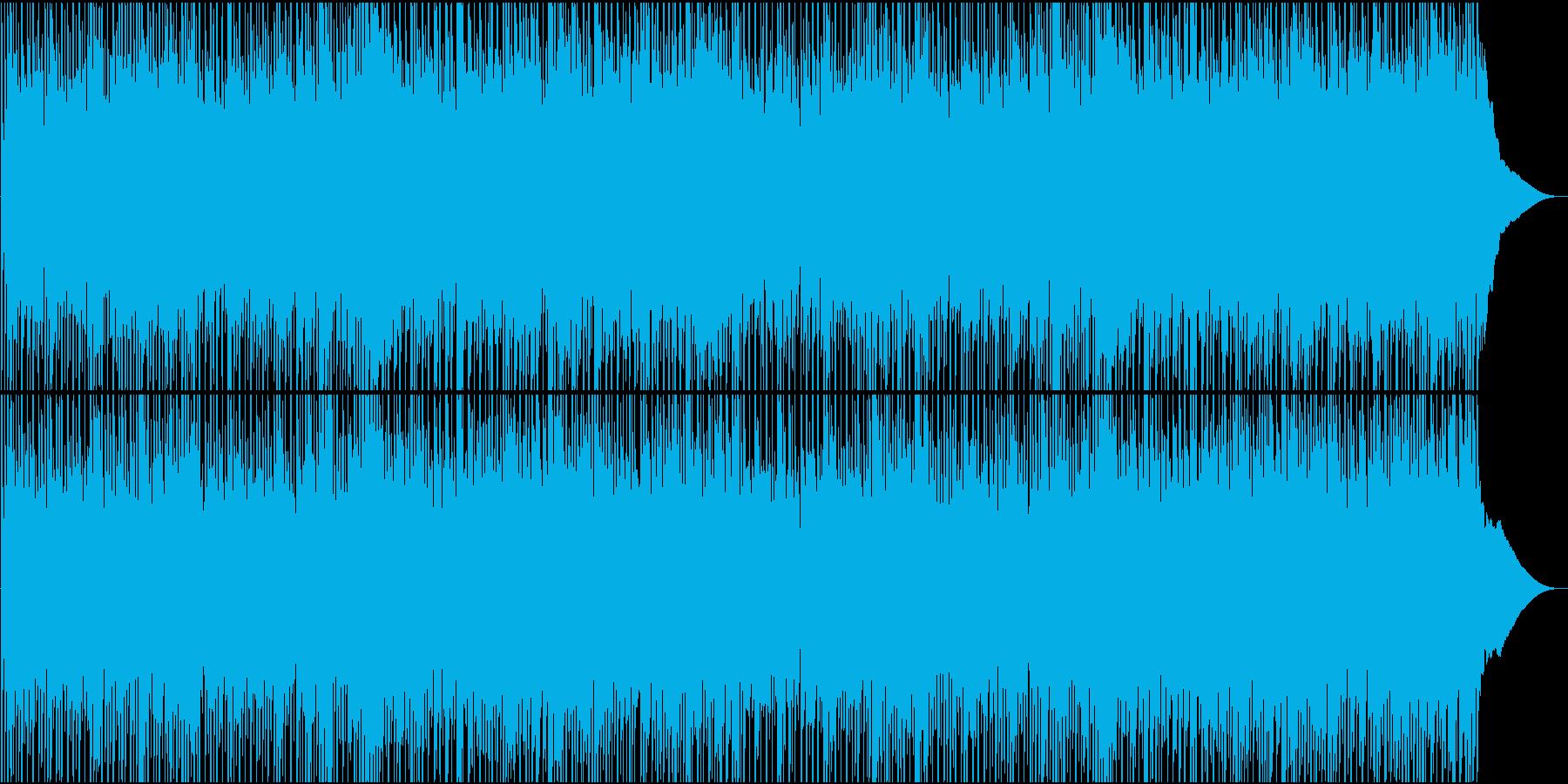 ポジティブ、モチベーション、ポップロックの再生済みの波形