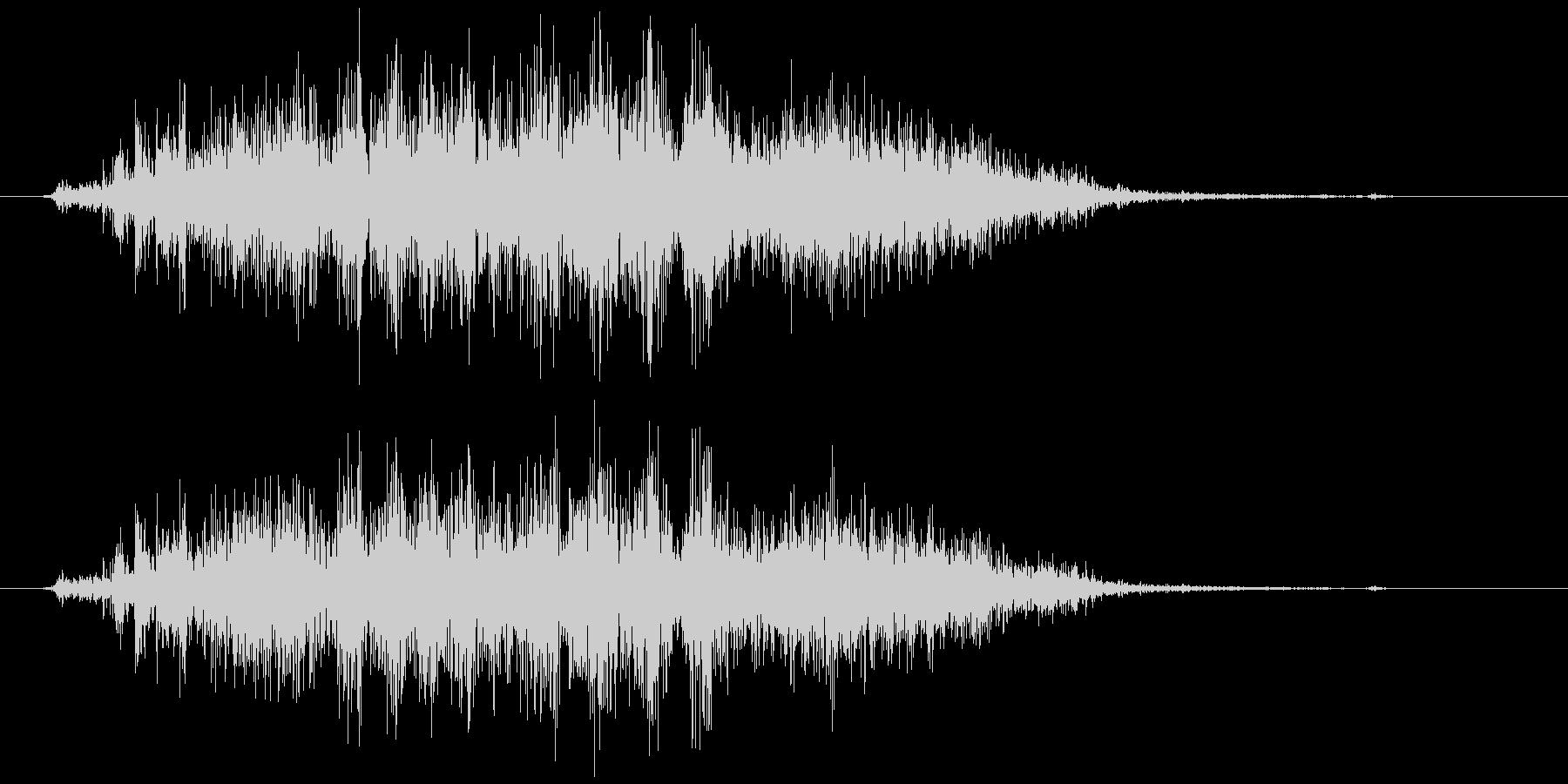 スプレー噴射 シュー (短め)の未再生の波形