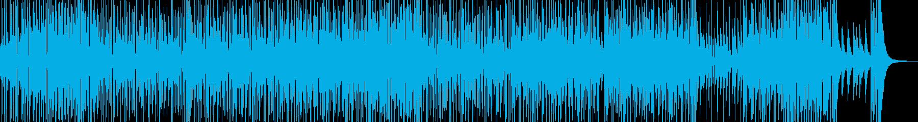 ファンキーで切ない雰囲気のR&Bの再生済みの波形
