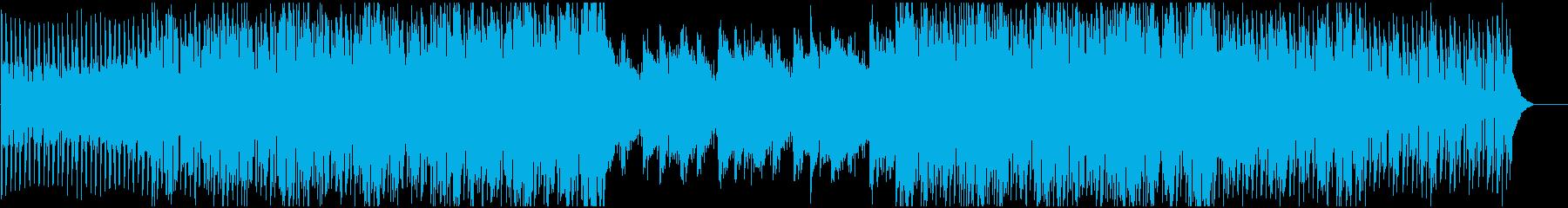 モダンでファンキーなディスコサウンドの再生済みの波形