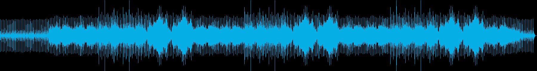 悲しくて少し不気味な楽曲の再生済みの波形