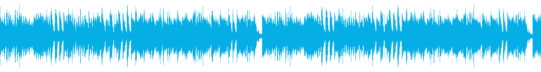 キッズ用動画等に ファンファーレ風ループの再生済みの波形