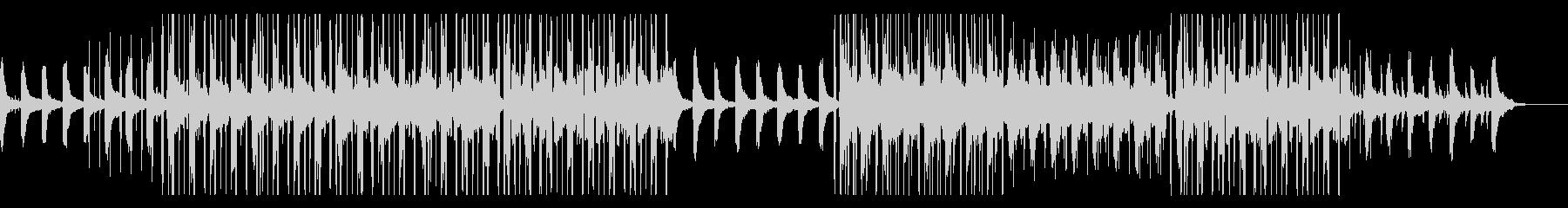少しダークな優しいLoFi HipHopの未再生の波形