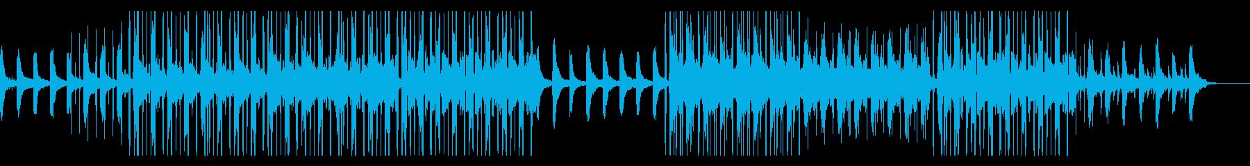 少しダークな優しいLoFi HipHopの再生済みの波形