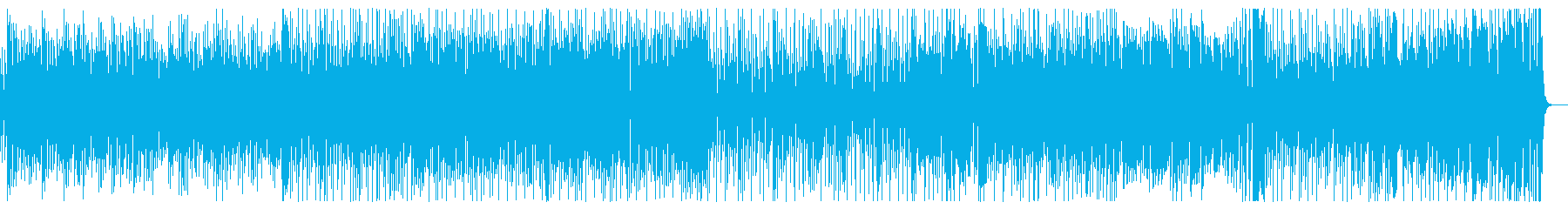 クールで疾走感のあるジャズ【スパイ映画】の再生済みの波形