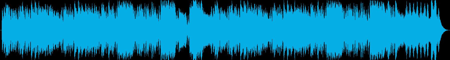 コミカルなメロディがかわいいフルートの再生済みの波形