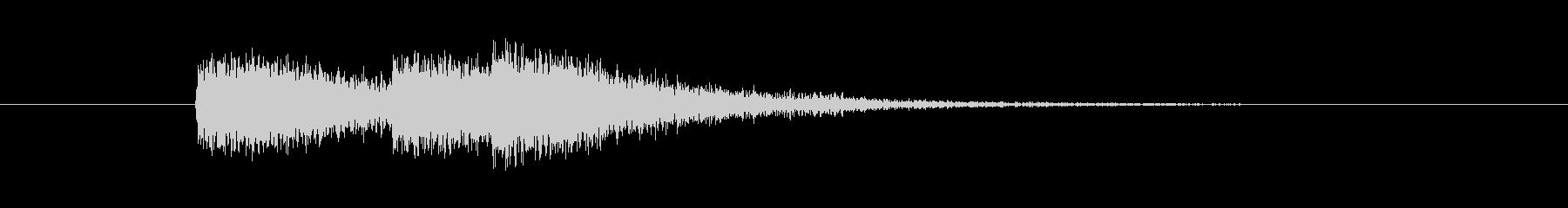クイズ出題04 / 商品効果 ピッチ低めの未再生の波形