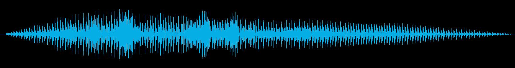 ビッグバズスイープ1の再生済みの波形