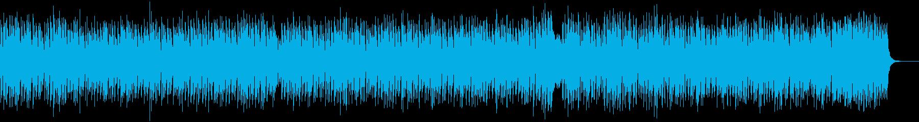 テンポの速い、明るい、陽気で楽しいノリ…の再生済みの波形