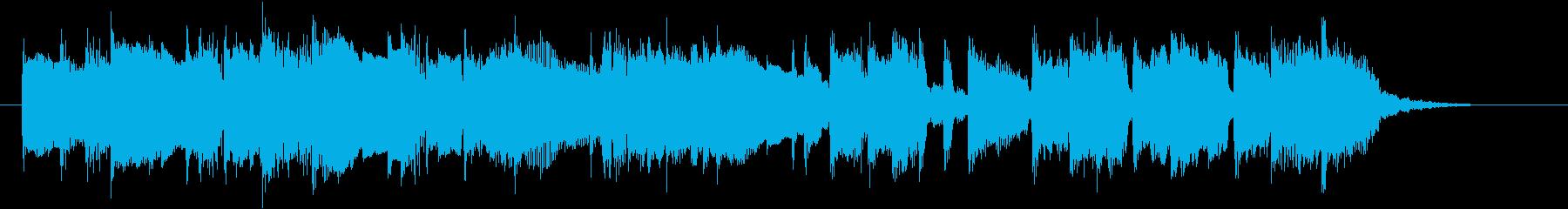 美しいエレピのバラードの再生済みの波形