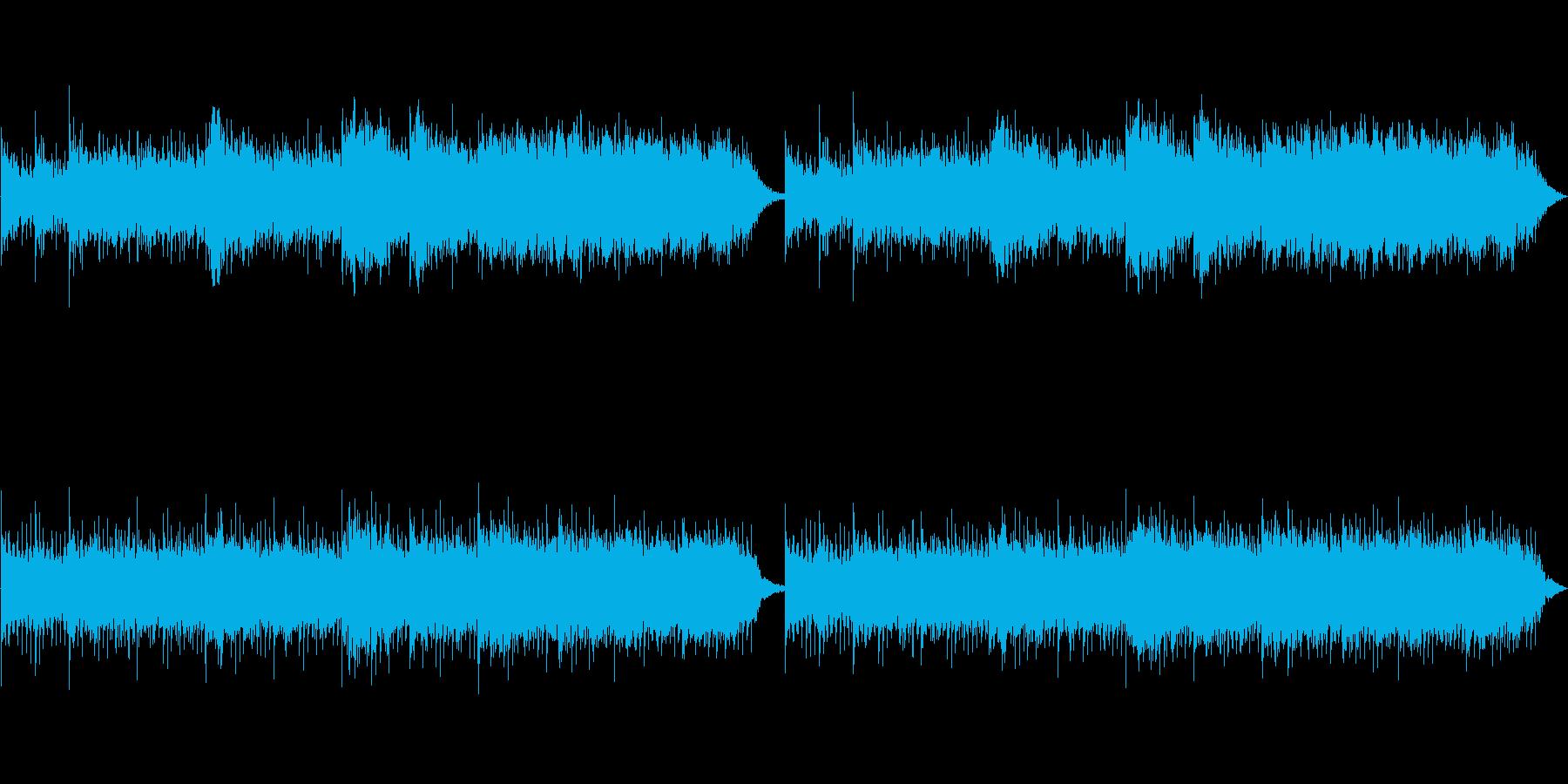 中東イスラムをイメージするフィールド音楽の再生済みの波形