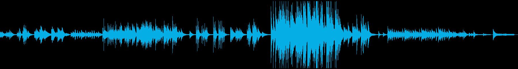 3:04しんみりと暖かく哀しいピアノ曲の再生済みの波形