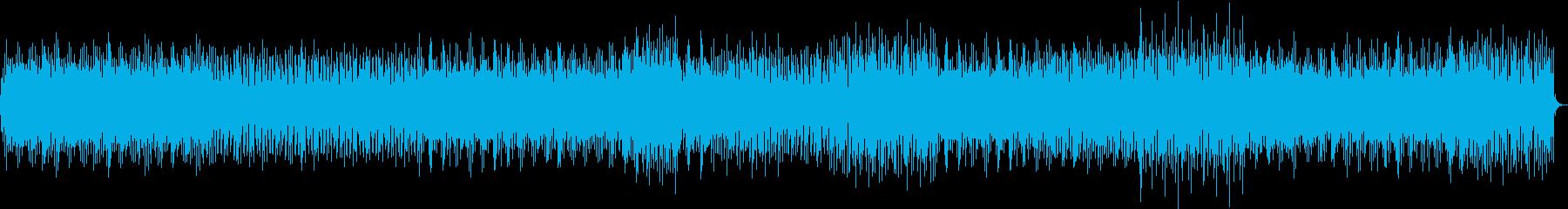 16BeatのTablaに載せたテクノ調の再生済みの波形