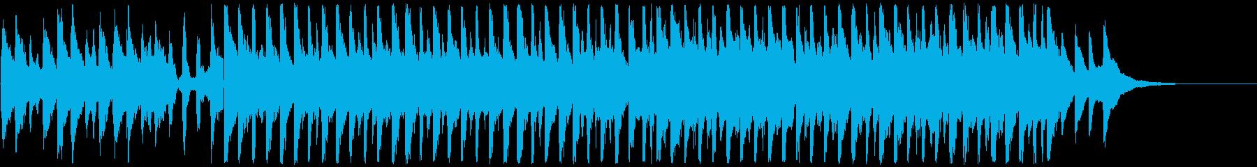 爽やか14の再生済みの波形