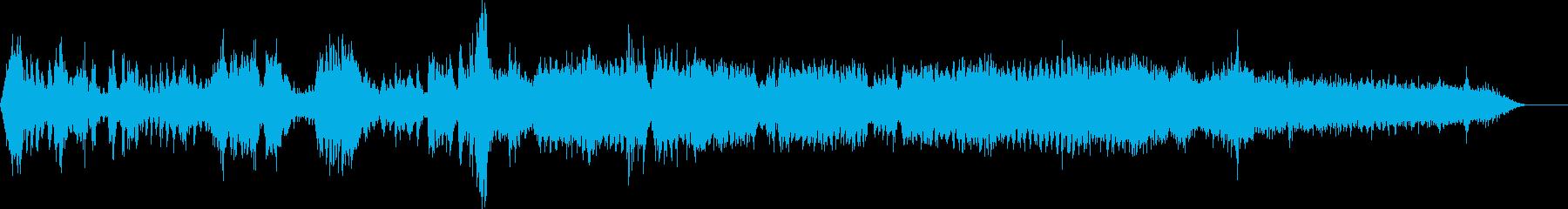 交通警察のサイレン-サイレン-PA1の再生済みの波形