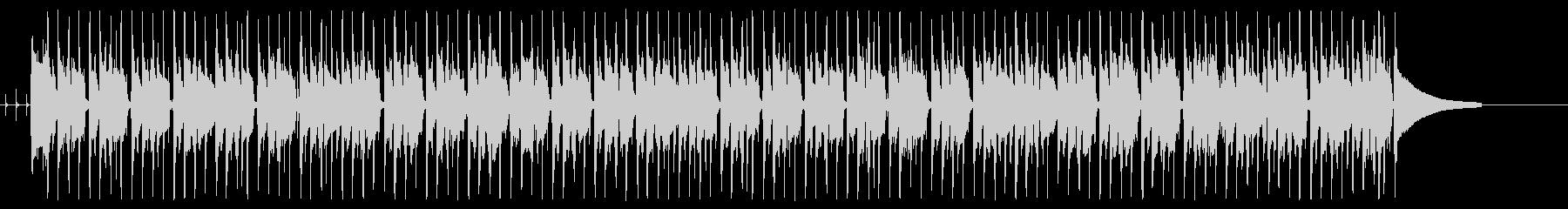 使いやすいファンクの未再生の波形