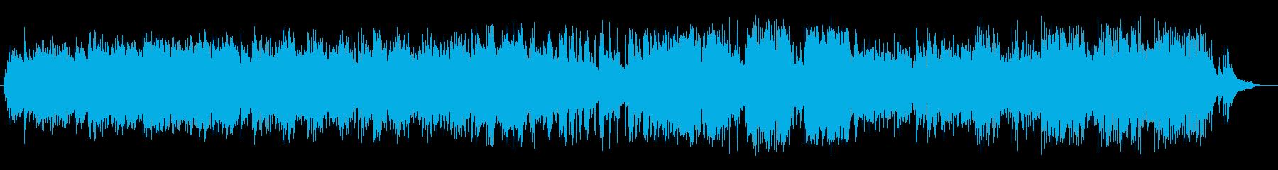 A dark and dark piano song's reproduced waveform