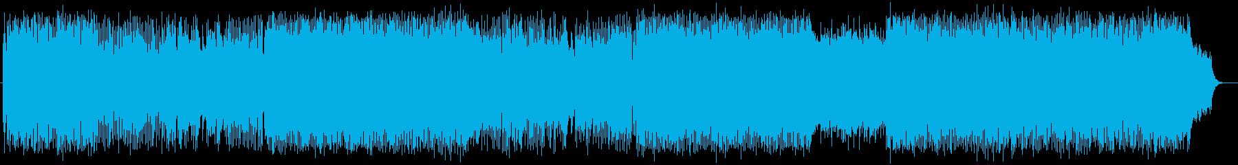 疾走感と勢いのあるギターシンセサウンドの再生済みの波形