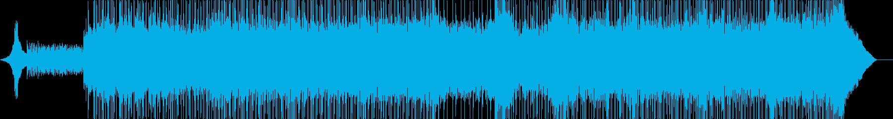 背景をポップします。アンガンスタイル。の再生済みの波形