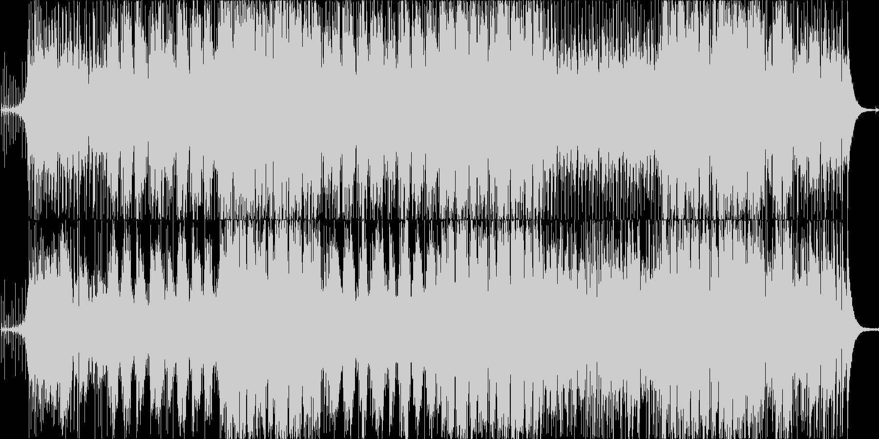 The Passengerの未再生の波形
